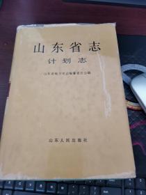 山东省志.计划志(图)