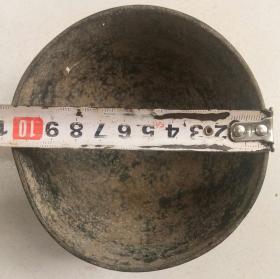清或民:铜碗