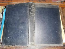 POWER OPERATOR\'S GUIDE电源操作指南    [1935年纽约麦格劳 - 希尔图书公司 初版]