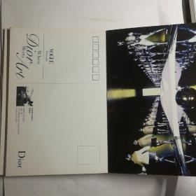 Dior迪奥限量艺术作品珍藏(名信片一套(22张明信片)【 正版品好 实拍如图 】