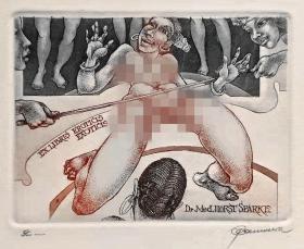 比利时 帕维尔 Hedwig Pauwels 版画藏书票原作3精品收藏