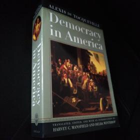 Democracy in America  论美国的民主 英文原版(芝加哥权威版本) 托克维尔  Alexis de Tocqueville