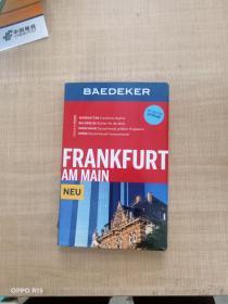 【外文原版】BAEDEKER:FRANKFURT AM MAIN NEU