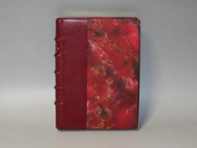 洋装书和手彩色之美——追忆似水年华—巴黎的小回忆(法语原版24幅钢版画)