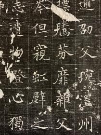 唐倪素墓志 全称大唐故处士倪君墓志铭,志石长宽55.55石刻于显庆三年,保真包原拓。