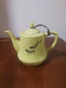 八十年代小瓷壶