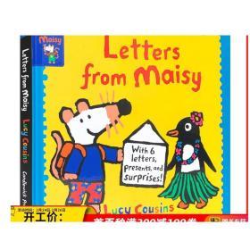 小鼠波波的来信 Letters from Maisy 英文原版 儿童英语启蒙绘本 亲子互动趣味读物 精装 Lucy Cousins 英文版进口原版书籍