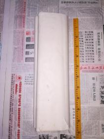 约八十年代3尺安徽老宣纸45张,有不少黄斑黄点!纸张稍厚檀料重,处理价勿议