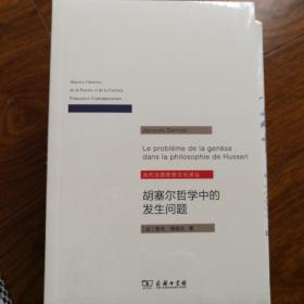 胡塞尔哲学中的发生问题/当代法国思想文化译丛