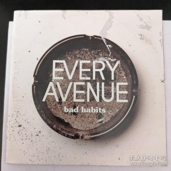 EVERY AVENUE:bad habits