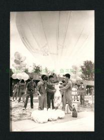 1980年代 台湾往大陆空飘传单照片,原版老照片,特殊历史时期之见证