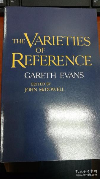 The Varieties of Reference