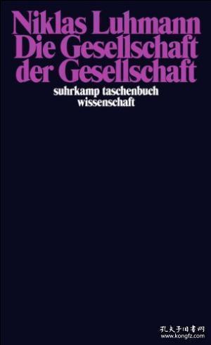 【包邮】Die Gesellschaft Der Gesellschaft