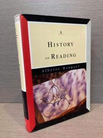 A History of Reading(阿尔维托·曼古埃尔《阅读史》,精彩的西方文学之旅,配丰富插图,精装大开本,带护封)