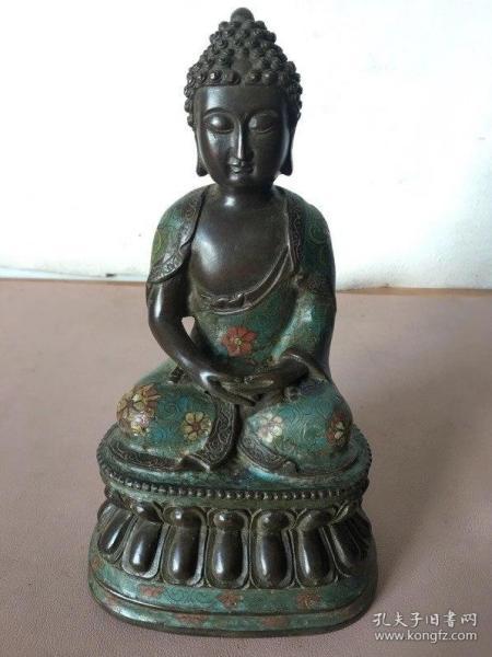 景泰蓝紫铜佛像,买家自鉴