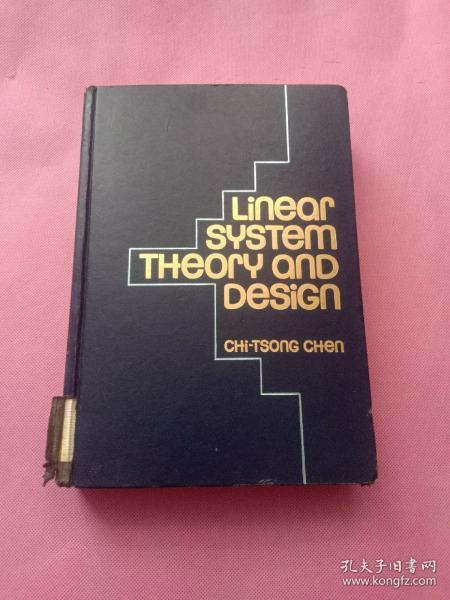 Linear System Theory and Design 【英文原版 精装版 私藏】 线性系统理论和设计