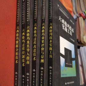 六西格玛管理培训丛书:六西格玛及其导入指南+六西格玛效果评价与量测+六西格玛过程控制技术+六西格玛数据分析技术六西格玛技术实施工具+六西格玛过程改进技术(6册合售 无盘)