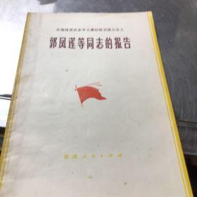 在福建省农业学大寨经验交流大会上 郭凤莲等同志的报告
