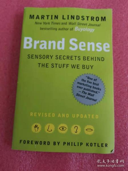 Brand Sense:Sensory Secrets Behind the Stuff We Buy