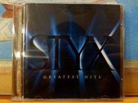 美版CD STYX 冥河乐队 GREATEST HITS