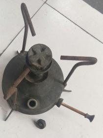 民国晚期:铜打气油炉