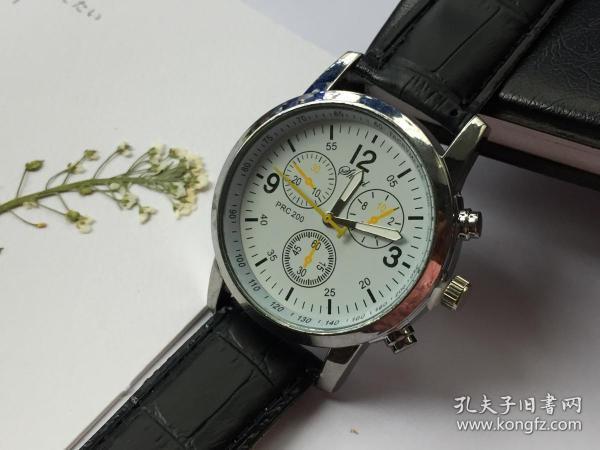 S10 新款爆款 时尚手表 男士女士儿童手表 中心表 真皮带 石英手表 运动表