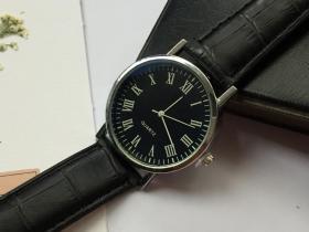 S11 新款爆款 时尚手表 男士女士儿童手表 中心表 真皮带 石英手表 运动表