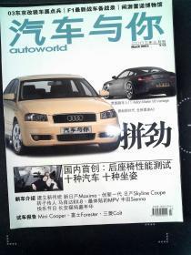 汽車與你 2003.3
