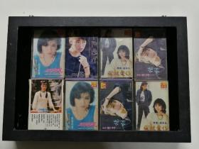 1987年快乐唱片原装正版,进口磁带8盘一起
