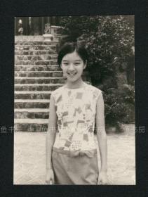 著名女演员、作家 胡茵梦照片 2,胡茵梦小时候照片,台湾早期原版老照片,李敖前妻