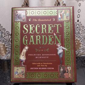 The Annotated Secret Garden 秘密花园诺顿详注版 Norton Annotated Books 诺顿详注版 诺顿详注丛书 超大开本 超详注释 超多精美插图 诺顿出品必是精品