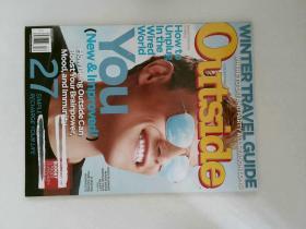 OUTSIDE 2012年12月 户外杂志英语英文时尚道具装饰原版外文杂志期刊
