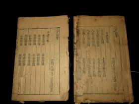 明万历刻本《三才图会》身体七卷4厚册全