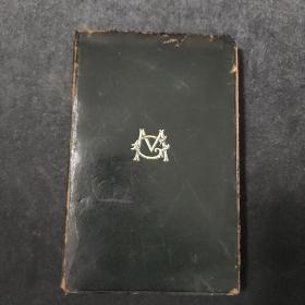 孤本珍品,Poems by george meredith,19世纪英国著名诗人乔治.梅瑞狄斯的诗集。1903年出版,真皮封面封底,书口刷金,封面鎏金字体,藏书票,精美绝伦.