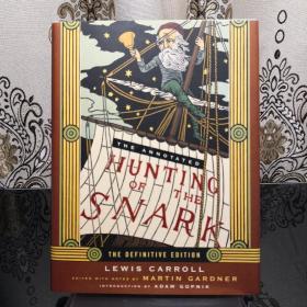 The Annotated Hunting of the Snark 猎鲨记诺顿详注版 Norton Annotated Books 诺顿详注版 诺顿详注丛书 超大开本 超详注释 超多精美插图 诺顿出品必是精品
