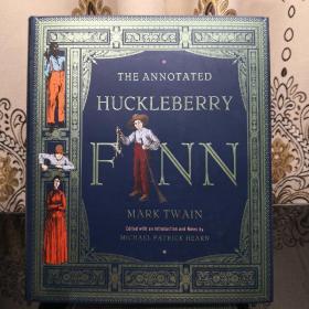 The Annotated Huckleberry Finn 诺顿详注版哈克贝利·费恩历险记 Norton Annotated Books 诺顿详注丛书 超大开本 超详注释 超多精美插图 诺顿出品必是精品