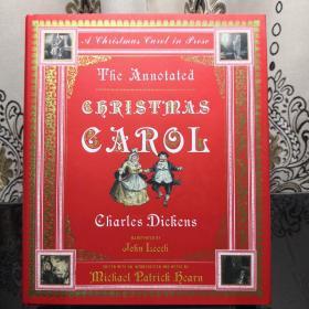 The Annotated Christmas Carol A Christmas Carol in Prose 诺顿详注圣诞颂歌 Norton Annotated Books 诺顿详注版 诺顿详注丛书 超大开本 超详注释 超多精美插图 诺顿出品必是精品