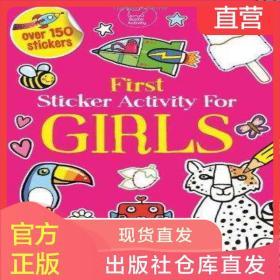 英文原版童书First Sticker Activity for Girls女孩贴纸书
