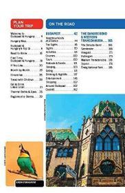 英文原版 孤独星球旅行指南: 布达佩斯和匈牙利 第8版 Lonely Pla