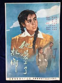 电影海报~二开~她爱上了故乡