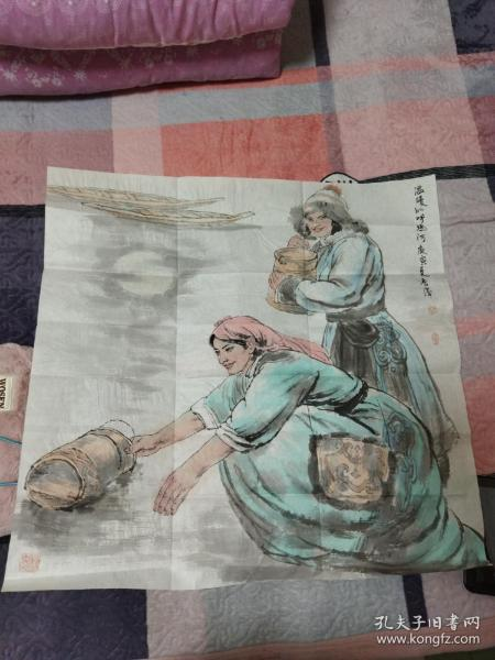 曹香滨画一副