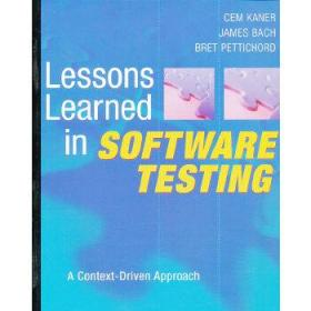 Lessons Learned in Software Testing:A Context-Driven Approach
