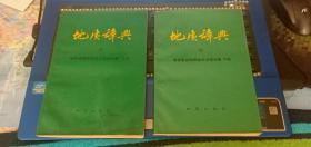 地质辞典(五)-地质普查勘探技术方法分册 上下