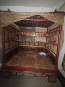 古董老家具民国古床上品