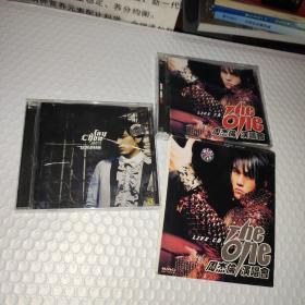 周杰伦正版音乐CD:周杰伦演唱会 RHE ONE (双碟)、依然范特西  2盒合售