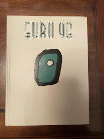 1996欧洲杯足球官方画册 osb原版欧洲杯画册 全新赛后特刊 4国语言 包快递