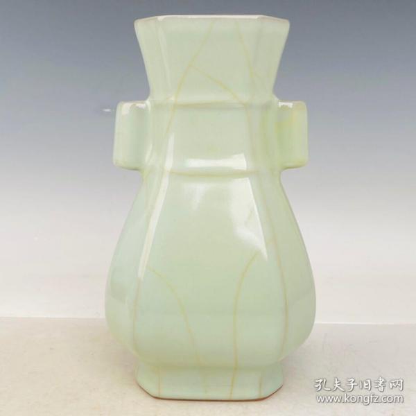 回流官瓷花瓶