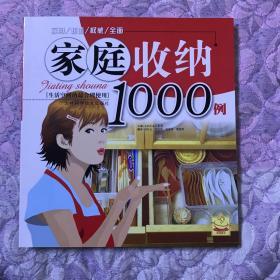 家庭收纳1000例(私藏,近全新)