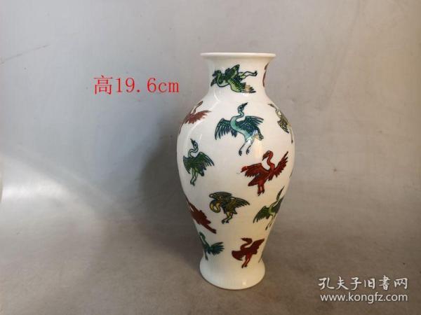 乡下收的明代成化瓷瓶