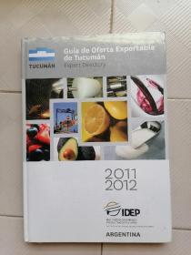 Guías de Oferta Exportable de Tucumán 2011/2012
